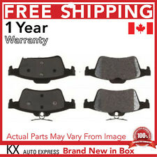 PREMIUM REAR CERAMIC BRAKE PADS SET FOR MAZDA 3 2006 2007 2008 2009 2010 2011