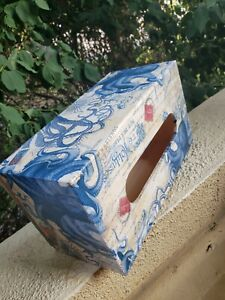 Ocean, Octopus Themed Decoupage Tissue Box