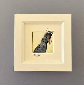 "Framed Original Watercolour Painting ""Rainbow Bee Eater""."