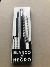 Blanco y Negro - Rude Boy Saxaphone - 1 pack Cigarette Rolling Papers from Spain