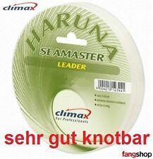 Climax Haruna Seamaster Leader sehr gut knotbare Vorfach Schnur ideal f Norwegen