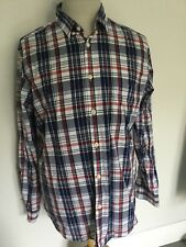 Jaeger Mens Check Long Sleeve Shirt Size L. Great Condition.