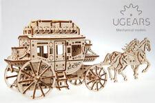 UGEARS Model Stagecoach Mechanical Wooden Model Kit 70045