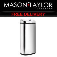Mason Taylor Kitchen 50L Motion Sensor Rubbish Bin - Silver SB-50L-S02-A
