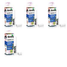 4x 10 ml Bio Wimpern Augenbrauen Serum Eyelash Booster Serum Wimpernwachstum