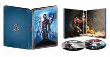 New Sealed Ant-Man Steelbook 4K Ultra HD + Blu-ray + Digital Code