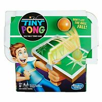 Hasbro Mini Ping Pong Table Tennis Kids Electronic Handheld Game New!