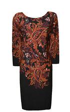 WALLIS Size 16 / 18 ( L ) PAISLEY PRINT DRESS    ---✴---
