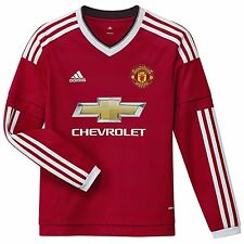 adidas Children's Home Football Shirts (English Clubs)