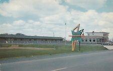 Canada Motel BERTHIERVILLE Lanaudière Quebec Canada 1950-60 Advertising Postcard