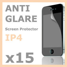 15 x Anti-Glare Matte LCD Screen Protector Skin Film for Apple iPhone 4S 4G 4
