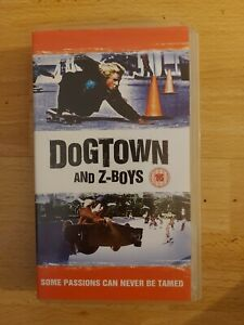 Dogtown And Z-Boys Skateboard Video VHS