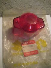 SUZUKI T20/X6/TC250/T10/S32-2/AS/AC/A/K/M TAIL LAMP LENS NOS!