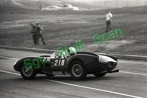 1960 CSCC Sports Car racing Photo negative Alex Budurin Ferrari TR Pomona, Ca.