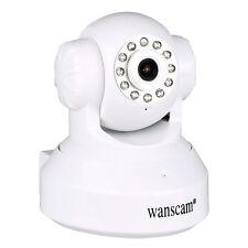 WANSCAM Two-way Audio IR Cut Night Vision Pan/Tilt Wifi Wireless 1.0MP IP Camera