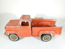 Vintage Pressed Steel Hubley Mighty Metal Pickup Truck 800 900 Lancaster PA RED