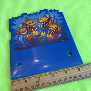 Piranha Panic Game Replacement Piece Part 1 Backdrop Background Board 2005