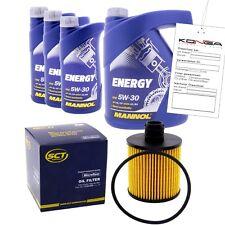 Inspektionskit MANNOL Energy 5W-30 für Nissan X-trail 2.0 Dci Fwd
