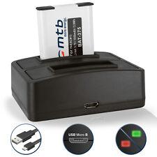 Bateria + Cargador doble DMW-BCM13E para  Panasonic Lumix DMC-TZ40, TZ41, ZS30