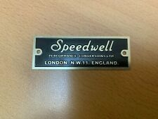 CLASSIC MINI COOPER S SPEEDWELL PERFORMANCE CONVERSIONS LTD BADGE