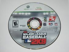Major League Baseball 2K9 (Microsoft Xbox 360, 2009) Disc Only