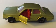 Matchbox Lesney Superfast No 55 Ford Cortina 1979 Gold Red Interior
