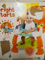 BRIGHT STARTS BOUNCE BOUNCE BABY Toddler Exercise Activity Center Toys USED