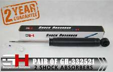 2 REAR SHOCK ABSORBERS FOR FORD: GALAXY MODEO IV, S-MAX (2006->) / GH-332521 /