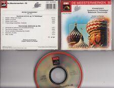 TCHAIKOVSKY Symphonie Nr 6 Doornroosje CD EMI MEESTERWERKEN HERBERT VON KARAJAN