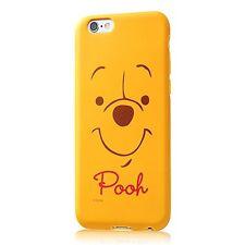 iPhone6 / 6s Disney Close-Up soft case Winnie the Pooh RT-DP7H / PO Japan