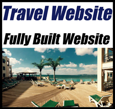 Website For Sale - Travel & Hotels - Affiliate - Make Money - Online Business