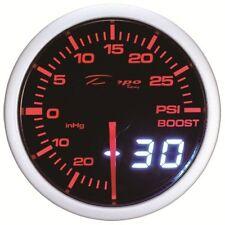 60mm Depo Racing Digital Turbo Boost Gauge 30 PSI amber WA6001LED universal