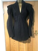 Kevan Jon Black Mini Dress Size 10