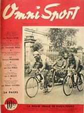 Omni Sport n°11 - 1946 - Paris Tours Schotte et Prevotal - Budge Tilden Tennis -