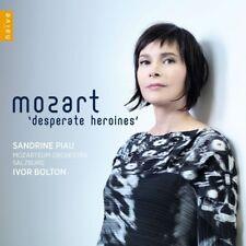 MOZARTEUM ORCHESTRA SALZ PIAU - OPERNARIEN DESPERATE HEROINES  CD NEUF MOZART