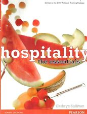Hospitality: The Essentials 2e By Cathryn Sullivan (Paperback, 2011)