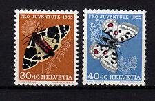 Schweiz  621 und 622  aus Pro Juventute 1955, 2 Werte postfrisch, siehe Bild