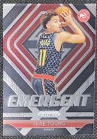 Trae Young 2018-19 Panini Prizm Emergent Insert Rookie RC #5 Atlanta Hawks