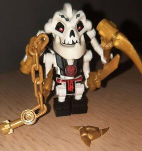 Lego Ninjago Samukai mit 4 goldenen Waffen NJO014 Figur 4 Arme Skelett