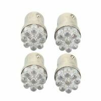 4 x 1157 BA15S 9 LED Ampoule Lampe Feux Lumiere Rouge 12V pour Voiture Q2Z2 1E