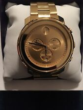 Men's Movado Bold Gold Watch