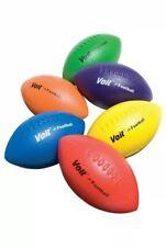 "Voit Tuff Foam 9 3/4"" Football Blue 2 Pack"