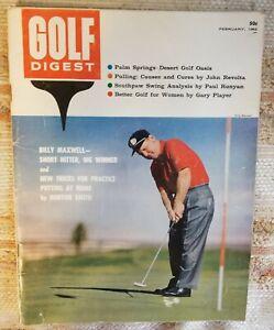 Golf Digest Magazine - February 1962