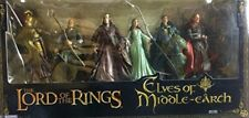 The Elves Of Middle Earth Lord Of The Rings action figure Box Set