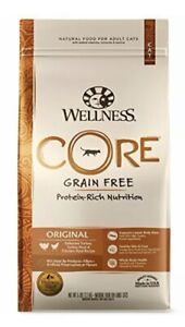 Wellness CORE Natural Grain Free Dry Cat Food Turkey (Adult) 5 Pound Bag