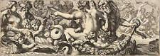 ZACHARIE HEINTZ - TRITONEN UND NEREIDEN - Radierung 1640-1650