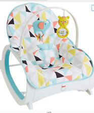 Fisher-Price Infant-to-Toddler Rocker Geo Diamonds NIB FDPO4