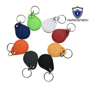 13.56MHZ MIFARE Classic 1K Access Smart Door Key Tag ISO14443A (pack of 100)
