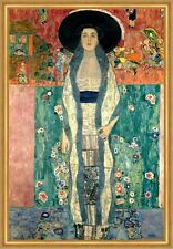 Adele Bloch-Bauer II Zwei Jugendstil Secession Portrait LW Gustav Klimt A1 012
