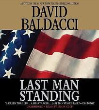 Last Man Standing by David Baldacci (Compact Disc, Abridged edition)